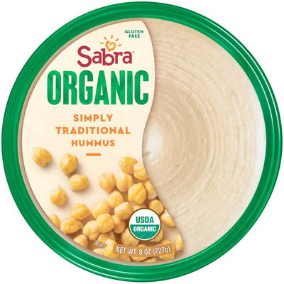 Sabra Organic Simply Traditional Hummus