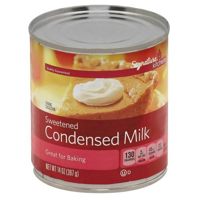 Signature Kitchens Condensed Milk, Sweetened