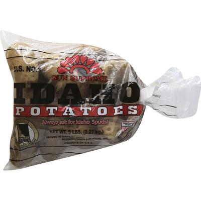 Sun Supreme Organic Russet Potatoes, Bag