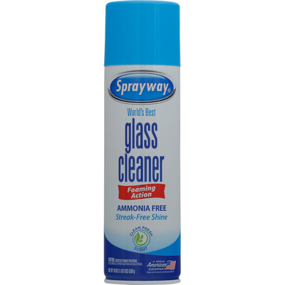Sprayway Glass Cleaner, Clean Fresh Scent