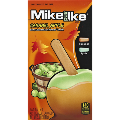 MIKE AND IKE Candies, Caramel Apple