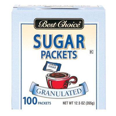 Best Choice Sugar Packets