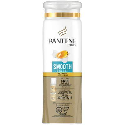 Pantene Pro-V Smooth & Sleek with Trial Size Airspray Shampoo