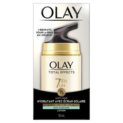 OLAY Anti-Aging Face Moisturizer With Spf 15, Fragrance-Free
