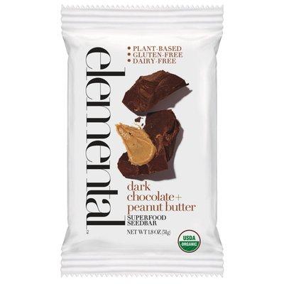 Elemental Superfood Dark Chocolate, Peanut Butter, Superfood Seedbar