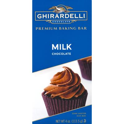 Ghirardelli Chocolate Premium Baking Bar Milk Chocolate