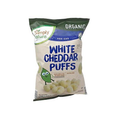Simply Nature White Cheddar Puffs