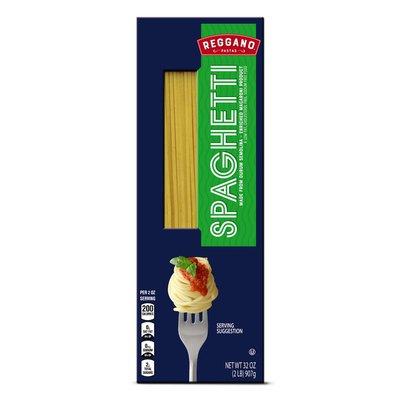 Reggano Spaghetti Enriched Macaroni Product Pastas