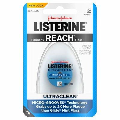 Listerine Ultraclean Floss, Mint