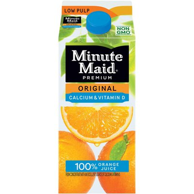 Minute Maid Orange Juice W/ Calcium, Fruit Juice Drink