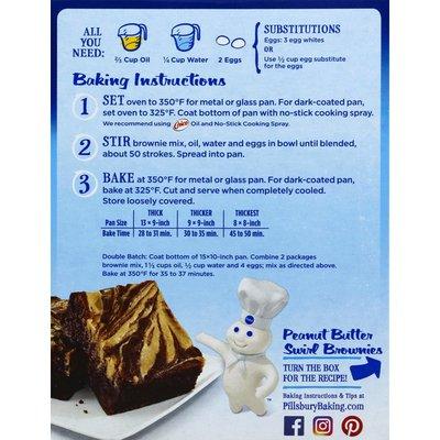 Pillsbury Brownie Mix, Chocolate Fudge, Family Size