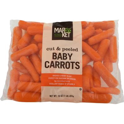Market 32 Baby Carrots, Cut & Peeled