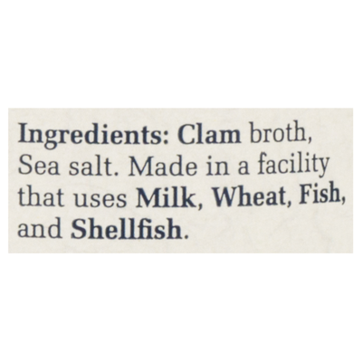 Bar Harbor All-Natural Clam Juice