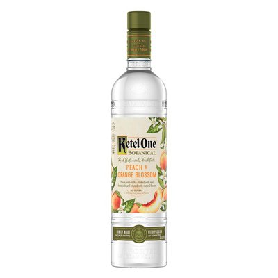 Ketel One Peach & Orange Blossom Vodka Distilled With Real Botanicals And Infused With Natural Flavors