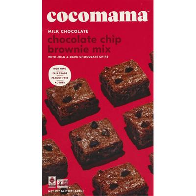 Cisse Cocoa Co Brownie Mix Milk Chocolate Chip Non GMO