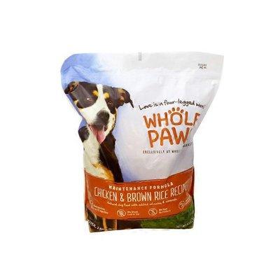 Whole Paws Chicken & Brown Rice Recipe Maintenance Formula Natural Dog Food