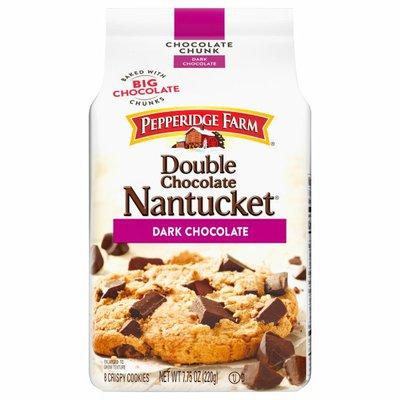 Pepperidge Farm®  Nantucket® Crispy Double Dark Chocolate Chunk Cookies
