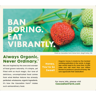 Cascadian Farm Granola Bars, Organic, Crunchy, Oats & Honey