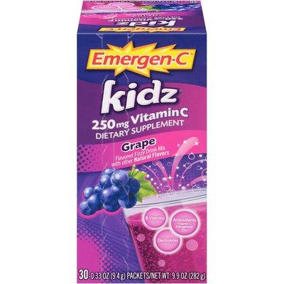 Emergen-C Kidz Grape Vitamin C 250mg Drink Mix Dietary Supplement