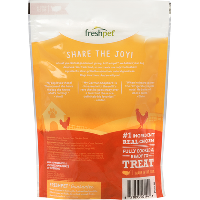 Freshpet Treats For Dogs, Chicken Recipe, Slow Grilled