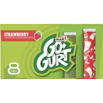 Yoplait Go-Gurt, Low Fat Yogurt, Strawberry