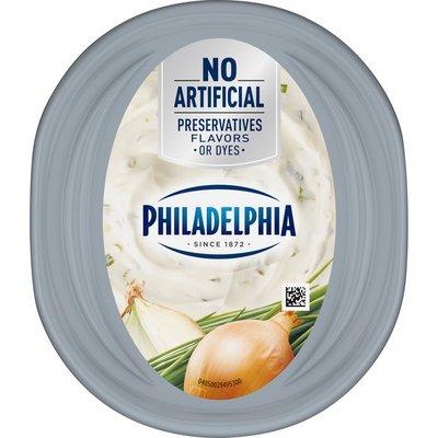 Philadelphia Chive & Onion Cream Cheese Spread