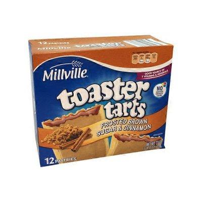 Millville Brown Sugar Cinnamon Toaster Tarts