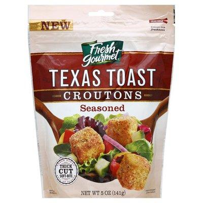 Fresh Gourmet Croutons, Texas Toast, Seasoned