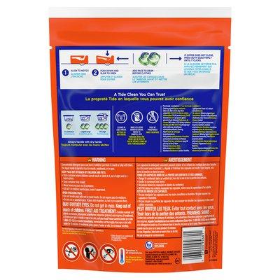 Tide PODS Plus Febreze, Sport Odor Defense Liquid Laundry Detergent Pacs, Active