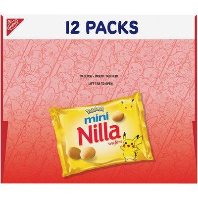 Nilla Wafers Mini Cookies - Snack Packs