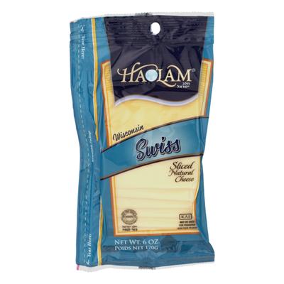Haolam Wisconsin Swiss Cheese Sliced