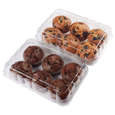 Kirkland Signature Muffins - 6 Blueberry, 6 Double Chocolate