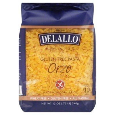 DeLallo Gluten Free Pasta Corn & Rice Orzo