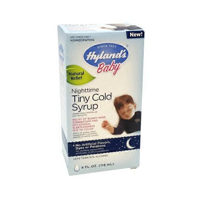 Hyland's Baby Nighttime Tiny Cold Syrup