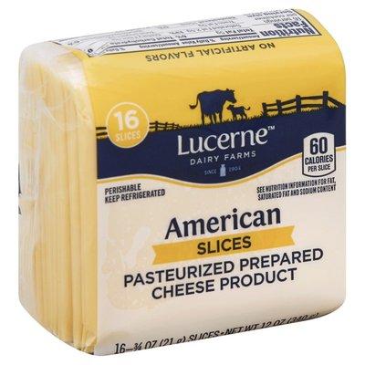 Lucerne Slices, American