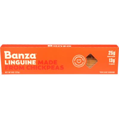 Banza Pasta, Linguine, Chickpeas