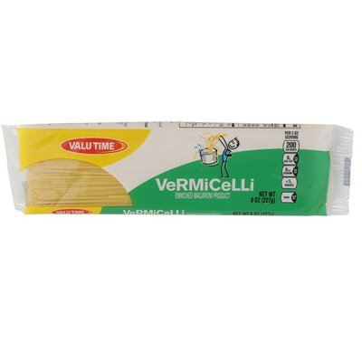 Valu Time Enriched Macaroni Product, Vermicelli