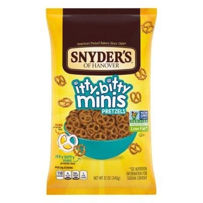 Snyder's of Hanover® Itty Bitty Minis Pretzels