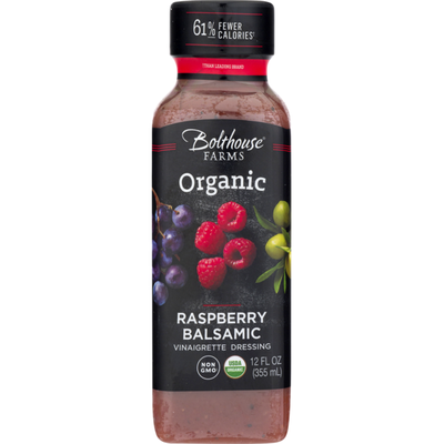 Bolthouse Farms Organic Vinaigrette Dressing Raspberry Balsamic, 12 oz.