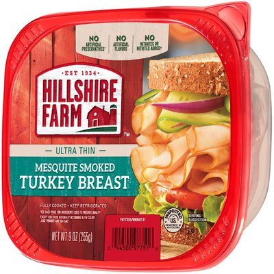 Hillshire Farm Turkey Breast, Mesquite Smoked, Ultra Thin