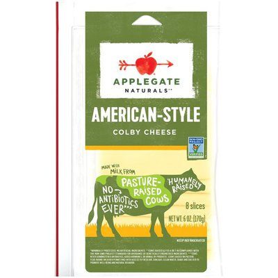 Applegate American-Style Colby Cheese