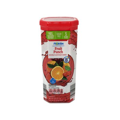 Fit & Active 12 Qt. Fruit Punch Drink Mix
