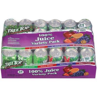 Tree Top Variety Pack 11.5 Oz 100% Juice
