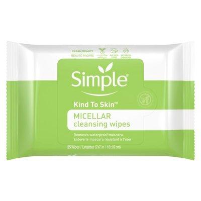 Simple Cleansing Wipes Micellar