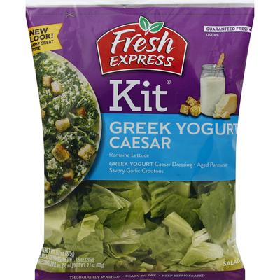 Fresh Express Caesar Salad Kit With Greek Yogurt Dressing