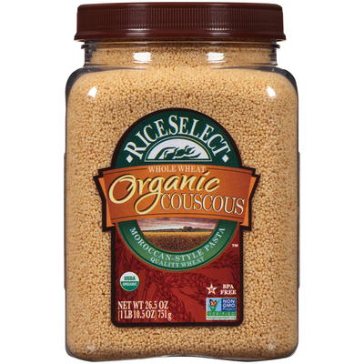 RiceSelect Whole Wheat Organic Couscous