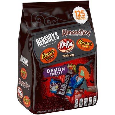 Hershey's Demon Treats Miniatures Assorted Candy
