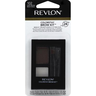 Revlon Brow Kit, Dark Brown 102