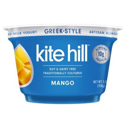 Kite Hill Yogurt, Artisan Almond Milk, Mango, Greek-Style