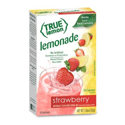 True Lemon Strawberry Lemonade Drink Mix